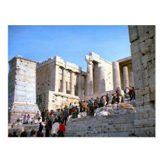 Vintage Grecia, Atenas, acrópolis, Postales