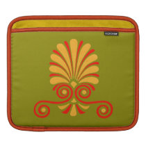 Vintage Greco-Roman Funky Owl Graphic Design Sleeve For iPads