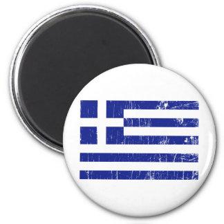 Vintage Greece 2 Inch Round Magnet