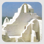 Vintage Greece, Myconos, Greek Orthodox Church Stickers