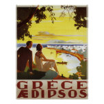 Vintage Greece Poster Print Posters