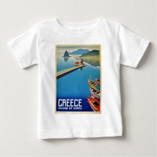 Vintage Greece Travel - Island of Corfu Baby T-Shirt