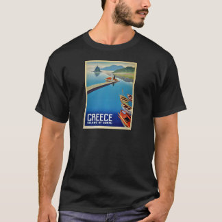 Vintage Greece Travel - Island of Corfu T-Shirt