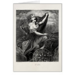 Vintage Greek Goddess Diana Artemis Roman Ancient Cards
