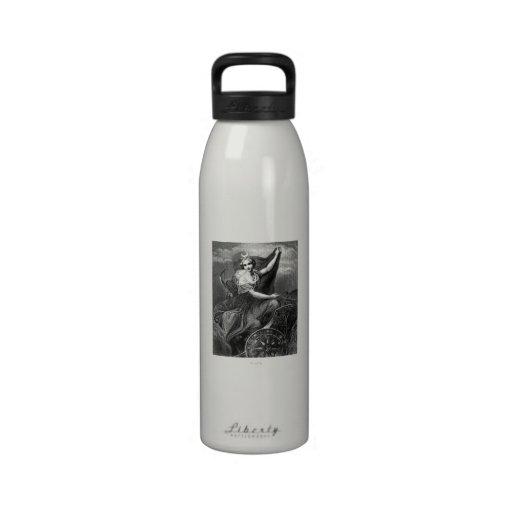 Vintage Greek Goddess Diana Artemis Roman Ancient Water Bottle