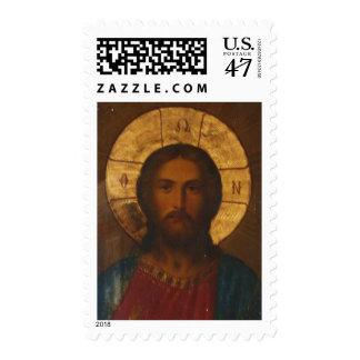 VINTAGE GREEK ORTHODOX ICON POSTAGE