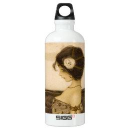 Vintage Greek Virgin Aluminum Water Bottle