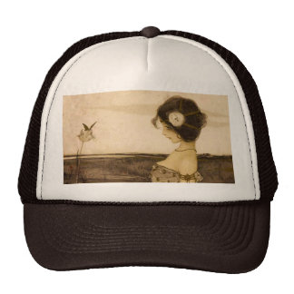 Vintage Greek Virgin Hat