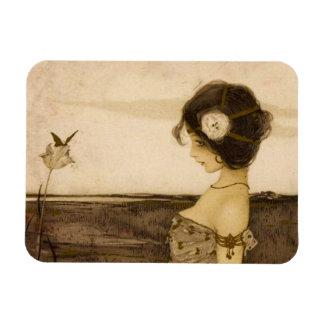 Vintage Greek Virgin Magnet