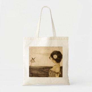Vintage Greek Virgin Tote Bag