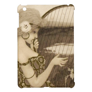 Vintage Greek Virgin With Harp iPad Mini Case