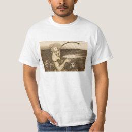 Vintage Greek Virgin With Harp T-shirt