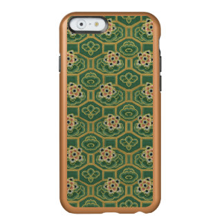 Vintage Green and Pink Japanese Floral Incipio Feather® Shine iPhone 6 Case