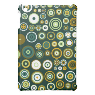 Vintage Green and White Fifties Abstract Art iPad Mini Case