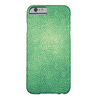 Vintage Green Barely There iPhone 6 Case
