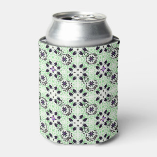 Vintage Green Can Cooler