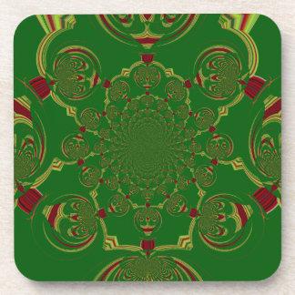 Vintage Green Coaster