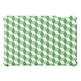 Vintage Green Cubic  iPad Mini Cover
