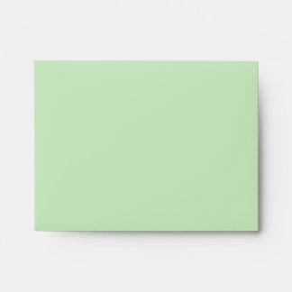 Vintage Green Envelope