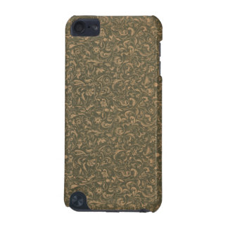 Vintage Green Floral Pattern 1 iPod Touch Case