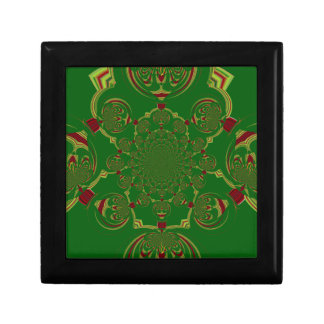 Vintage Green Gift Box