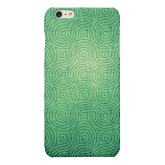 Vintage Green Glossy iPhone 6 Plus Case