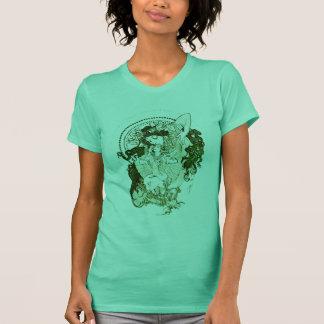 Vintage green goddess T-Shirt
