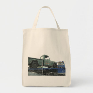 Vintage Green Jeep Bags