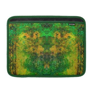 """Vintage Green Mosaic,Macbook Air 13"""" Horizontal MacBook Air Sleeve"""