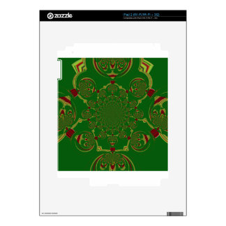 Vintage Green Decal For iPad 2