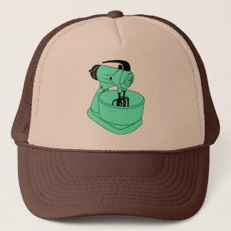 Vintage Green Sunbeam Mixmaster Trucker Hat