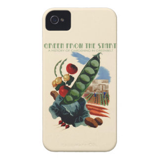 Vintage Greenbelt iPhone case