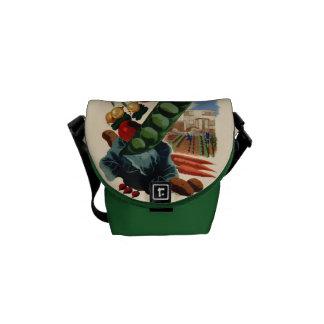 Vintage Greenbelt messenger bag