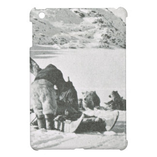 Vintage Greenland out with the dogs Case For The iPad Mini