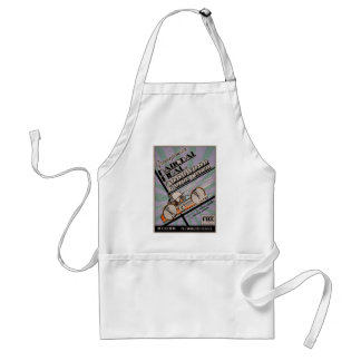 Vintage Greenpower National Final Poster Adult Apron
