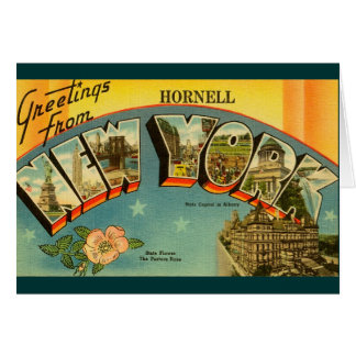 Vintage Greeting from New York Card