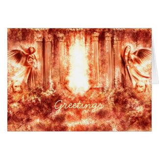 Vintage Greetings 1 Greeting Card