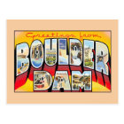 Vintage greetings from Boulder (Hoover) Dam Nevada Postcard
