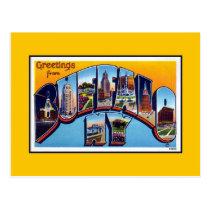 Vintage greetings from Buffalo NY Postcard
