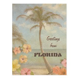 Vintage Greetings from Florida (customizable) Postcard