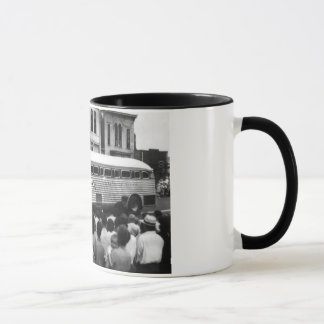 Vintage Greyhound Bus Mug