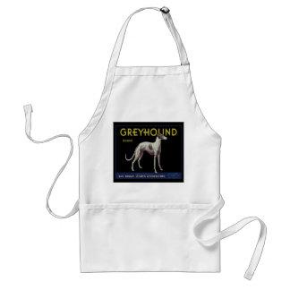 Vintage Greyhound Lemon Label Circa 1920 Adult Apron