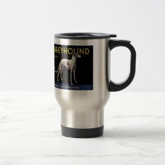 Vintage Greyhound Lemon Label Circa 1920 Coffee Mugs