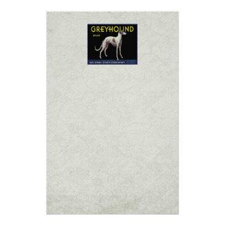 Vintage Greyhound Lemon Label Circa 1920 Stationery