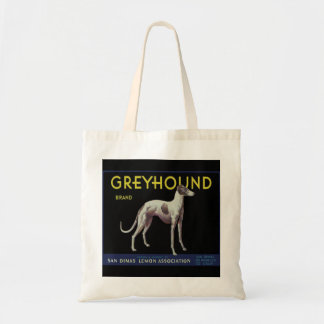 Vintage Greyhound Lemon Label Circa 1920 Tote Bag