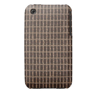 Vintage grill cloth iPhone 3 Case-Mate cases