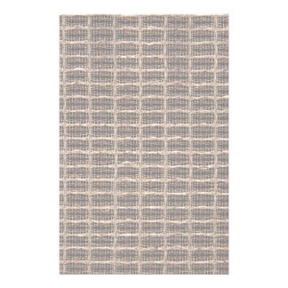 Vintage grill cloth customized stationery