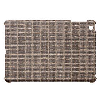 Vintage grill cloth iPad mini cases