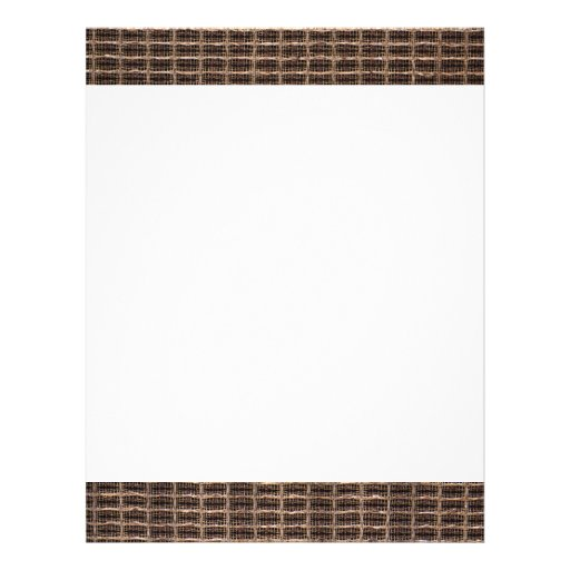 Vintage grill cloth personalized letterhead