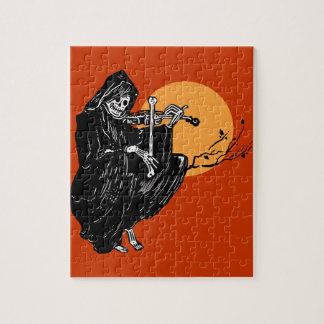 Vintage Grim Reaper Jigsaw Puzzles